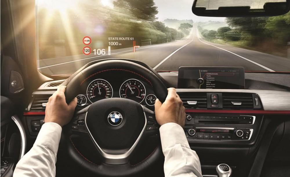 BMW 7 HUD
